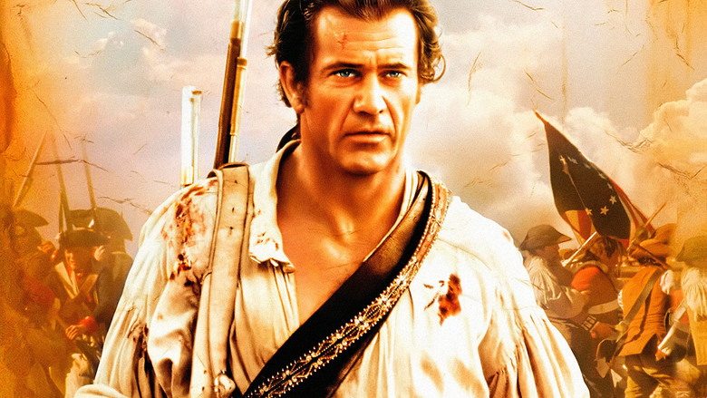 Actor Mel Gibson in The Patriot movie