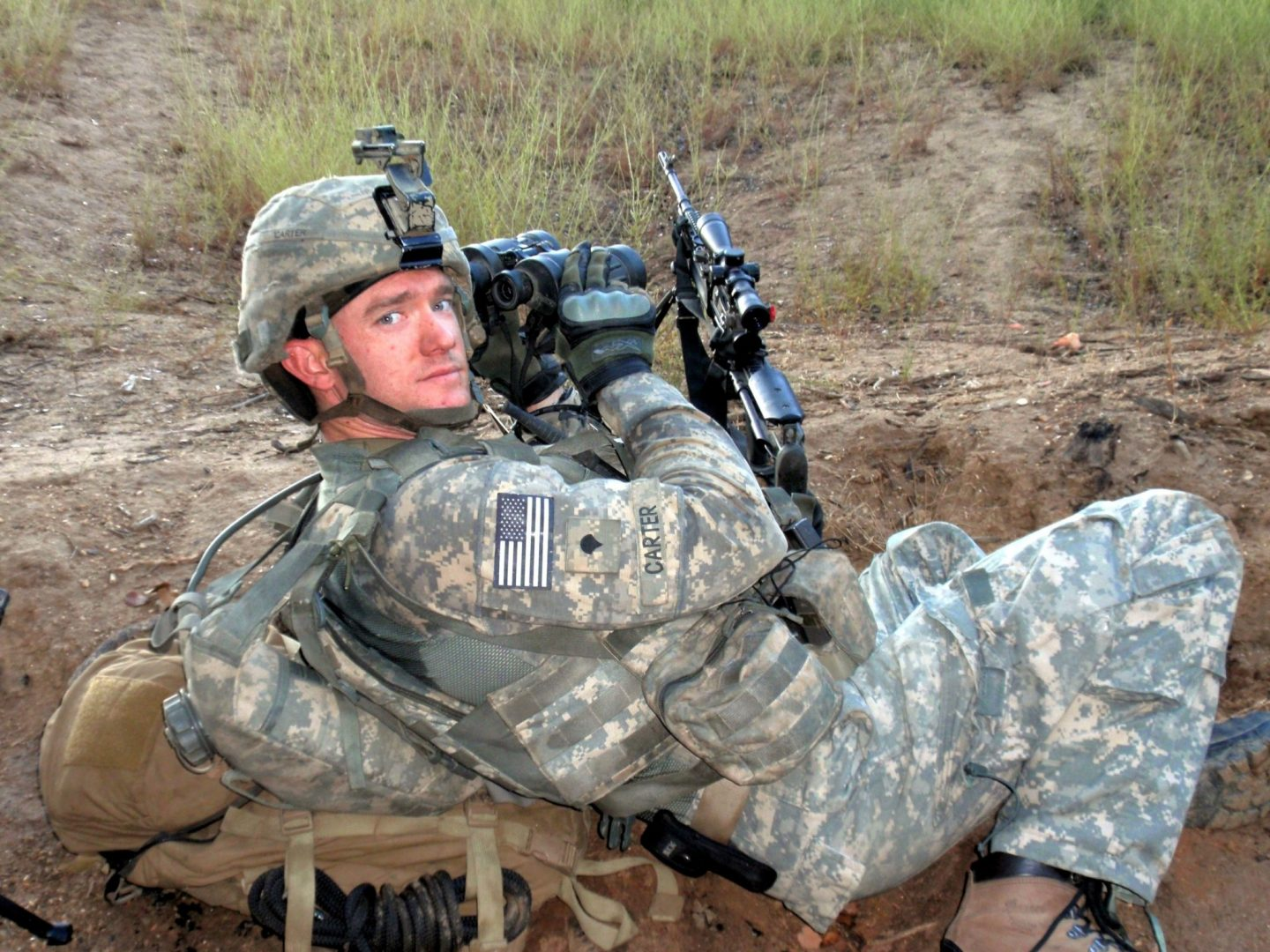 Staff Sergeant Ty Carter, Medal of Honor recipient