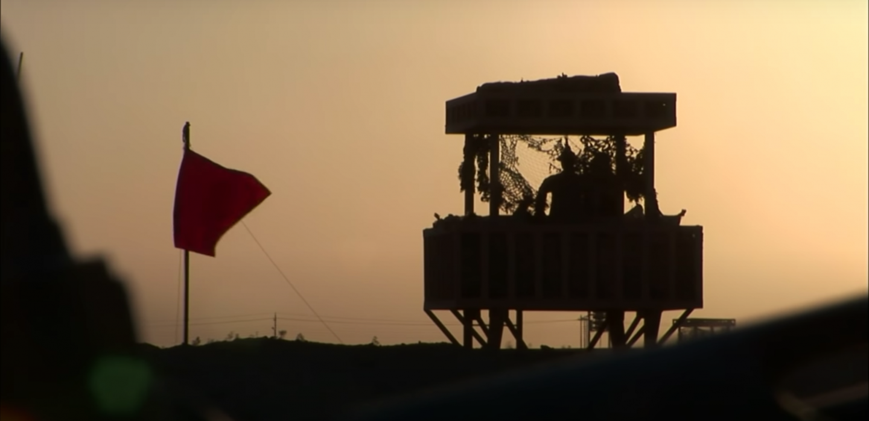 Camp Fallujah from the documentary Alpha Company: Iraq Diary