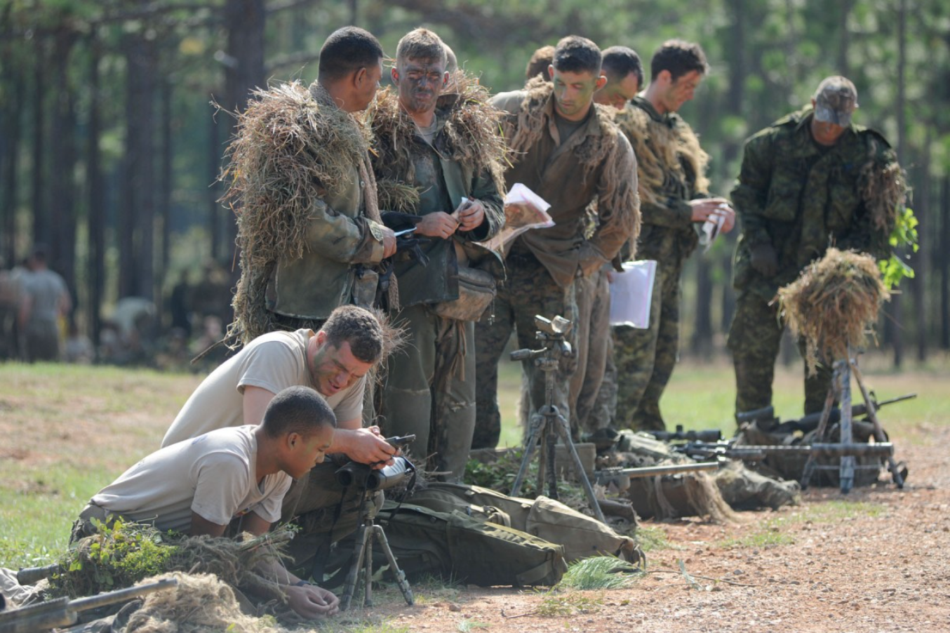 Sniper Teams compete at Fort Benning, GA at the 10th annual sniper competition